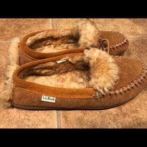 LL Bean men's slippers size 9
